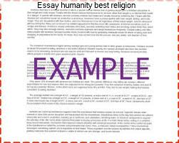 essay humanity best religion college paper academic writing service essay humanity best religion islam the religion of humanity by the example of such