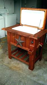 diy wood ice box plans wooden chest cooler elegant coolers designs wooden ice chest building