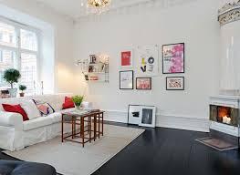 35 Light And Stylish Scandinavian Living Room DesignsPainted Living Room Floors