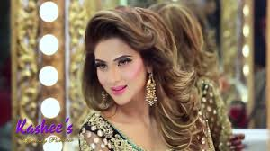 kashees glamorous hair styling makeup fizza ali kashee s beauty parlor