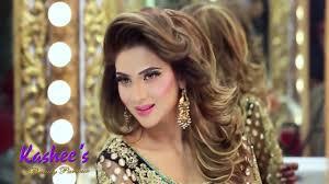 kashees glamorous hair styling makeup fizza ali