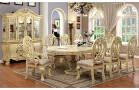 Antique White Dining Room New Design