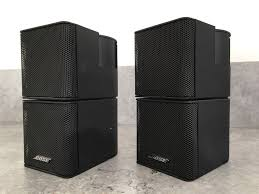 bose jewel cube speakers. 2 x bose jewel double cube lifestyle accoustimass surround sound cinema speakers 5 10 15 28 u