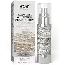 wow flawless whitening pearl no parabenineral oil serum 30ml