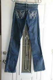 Womens Wrangler Q Baby Mid Rise Boot Cut Tuff Buck Jeans