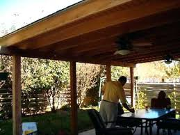 for wooden patio styles