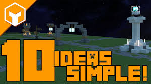 10 Easy Street Lights And Sign Ideas In Minecraft With Downloads
