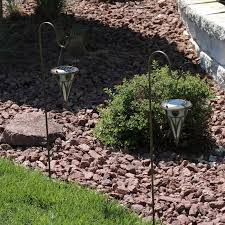 decorative solar lighting. Decorative Cone Outdoor Hanging Solar Light Garden Stake Set Lighting .