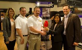 dalton whole floors was named top elite retailer of 2017 by armstrong flooring pictured