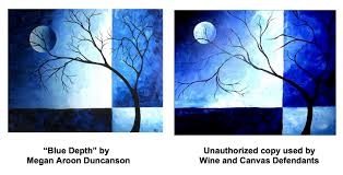 artists sue wine and canvas for unauthorized copying of paintings