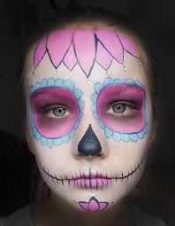 if you ve ever wondered how to do cool sugar skull makeup for a day