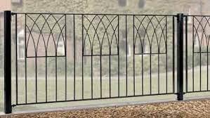abbey wrought iron style metal garden