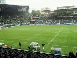 Pge Park Seating Chart Providence Park Section 118 Home Of Portland Timbers