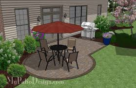 Small Patio Design on a Budget 295 sq ft Small patio design