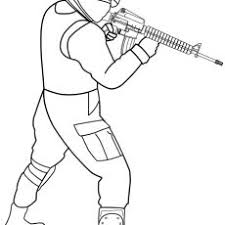 Crafty Inspiration Ideas Soldier Coloring Pages Cartoon Infantry