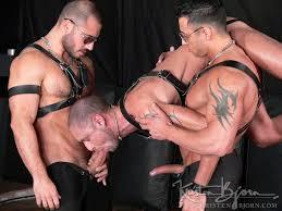 Free gay leather bondage movies