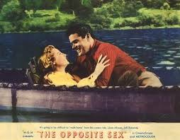 Image result for june allyson in the opposite sex and canoe