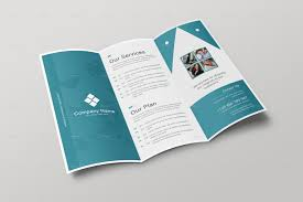 Tri Fold Brochure Corporate Trifold Brochure by ARPCreation GraphicRiver 1