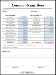 Free Payroll Template Pics 5 Payroll Correction Form Template