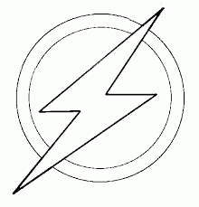 Coloring Pages Flash Kid Flash Simbel Flash Superhero Coloring Pages
