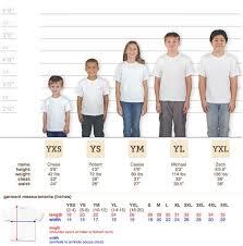 Jerzees T Shirt Size Chart 46 Correct Gildan Sizes Youth Chart