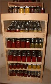 Shelves Made From Pallets 31 Best How To Store Canning Jars Images On Pinterest Canning
