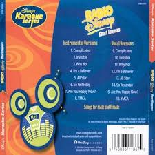 Disneys Series Radio Disney Chart Toppers Karaoke Playbacks