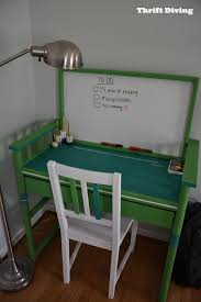 turn a changing table into a desk 5