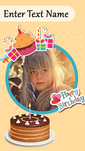 Happy Birthday Cake Photo Frame Editor App Report On Mobile Action