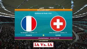 France - Suisse [PES 2021]   UEFA Euro 2020 (Huitièmes de finale n°6/8)