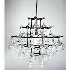 wine rack chandelier glass magic hanging wine glass chandelier all wine racks throughout wine glass chandelier wine rack chandelier
