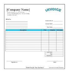 Download Simple Invoice Template Creative Free Sales Invoice Template Word For Download