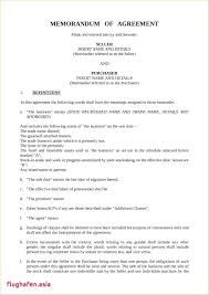 Sample Business Purchase Agreement Template Offer To Sell Template 10