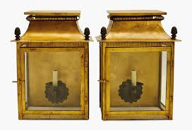 a pair of gilt metal one light square wall lights modern sold for 1 500 in the interiors on 25 26 august 2016 at christie s in new york
