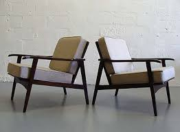mid century modern furniture for sale. Delighful Mid 2 Beautiful Danish Modern Lounge Chairs Midcentury Wegner Juhl Linen SALE For Mid Century Modern Furniture Sale N