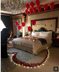 decorate bedroom for romantic night