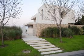 modern home architecture stone. Agua House Buenos Aires Modern Home Architecture Stone