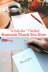 8 Tips To Write A Business Thank You Note | Social Media Torch