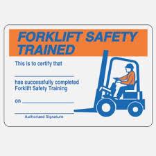 Versatile Free Printable Forklift Certification Cards Jeettp