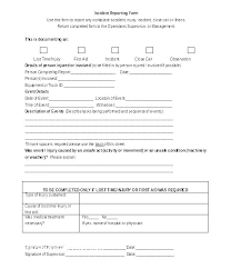 employee injury report form template injury incident report form template idmanado co