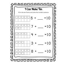 Best Make Addition Worksheets Pictures Inspiration - Worksheet ...