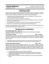 Software Tester Resume Sample Sample Resume Format For Fresh Free Sample  Resume Cover