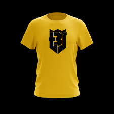 Yellow And Black T Shirt Designs Terry Beckner Jr Pro Logo Yellow T Shirt