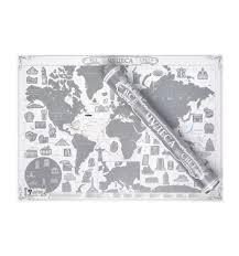 <b>Скретч</b>-<b>карта мира</b> Smart Gift Все чудеса света Platinum Edition ...