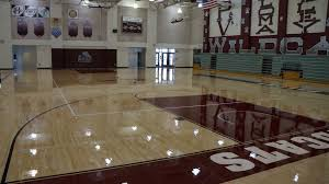 gym floor refinishing cost