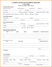 15 Luxury Security Incident Report Template Thailifekeywest It