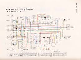 kz650 info z650 b4c4f1 european model ~ wiring diagram components types of electrical wiring at Europe Wiring Diagrams