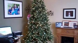 Costco EZ Connect Artificial Christmas Tree. 9ft. Set-up - YouTube