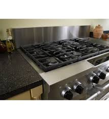 modern gas stove top. Modern Kitchen Style With 6 Burner Gas Aid Stove Top, Dual Center Rear Type Top