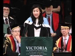 Victoria University Graduation December 2011 - Graduate speaker ...